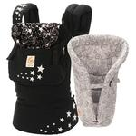 Ergo Baby BCIINSGGNL - Bundle Of Joy Original Carrier and Insert - Night Sky with Galaxy Grey Insert
