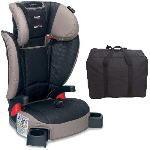 Britax - Parkway SG G1 1 Belt-Positioning Booster Seat with Travel Bag - Knight