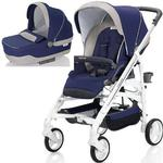 Inglesina - Trilogy Stroller with Bassinet - Positano (Blue/White)