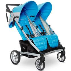 Valco Baby ZET1134 - Zee Two Double Stroller - Cloudless (Blue)