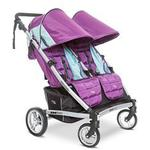 Valco Baby ZET1172 - Zee Two Double Stroller - Wisteria (Purple)