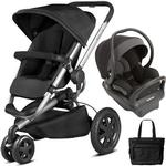 Quinny - Buzz Xtra MAX Travel System with Bag - Black
