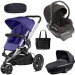 Quinny - Buzz Xtra Complete Collection - Purple and Black