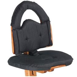 Svan Chair Cushion, Black