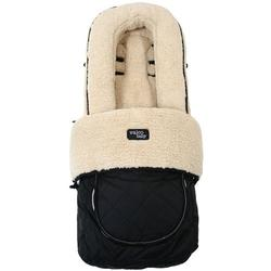 Valco Baby A052 -  Universal Deluxe Fluffly Foot Muff - Black Fleece