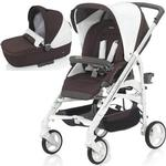 Inglesina - Trilogy Stroller with Bassinet - Caffe (Brown/White)