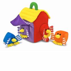 Melissa and Doug Bird House Shape Sorter (3039)