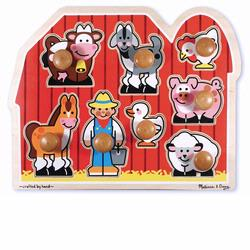 Melissa and Doug Large Farm Jumbo Knob (3391)
