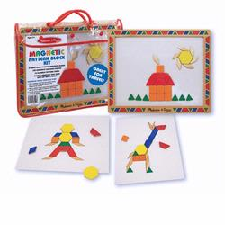 Melissa and Doug Magnetic Pattern Block Kit (3590)