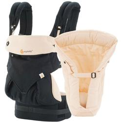 Ergo Baby - Four Position 360 Carrier Bundle of Joy - Black/Camel