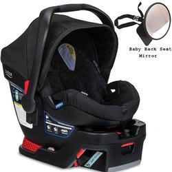 Britax - B-Safe 35 Infant Car Seat with Back Seat Mirror - Black