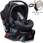Britax - B-Safe 35 Elite Infant Car Seat with Back Seat Mirror - Domino