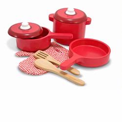 Melissa and Doug Wooden Kitchen Accessory Set (2610)