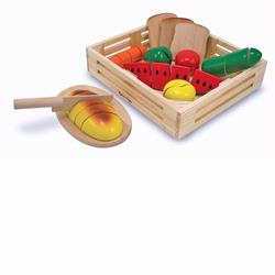 Melissa and Doug Cutting Food Box (0487)