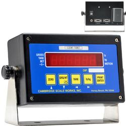 Cambridge CSW-10AT-B LED Digital Weight Indicator Legal for Trade - Battery Operated