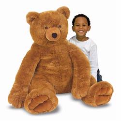 Melissa and Doug Jumbo Brown Teddy Bear - Plush (2138)