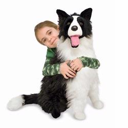 Melissa and Doug Border Collie - Plush (4868)