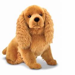 Melissa and Doug Cocker Spaniel - Plush (4856)