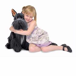 Melissa and Doug Miniature Schnauzer - Plush (4857)