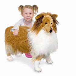 Melissa and Doug Shetland Sheepdog - Plush (4862)