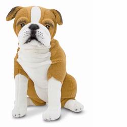 Melissa and Doug English Bulldog - Plush (4865)