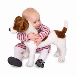 Melissa and Doug Jack Russell Terrier - Plush (4867)