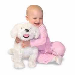 Melissa and Doug Bichon Frise - Plush (4869)