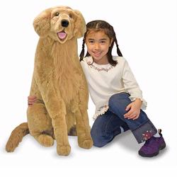 Melissa and Doug Golden Retriever - Plush (2109)