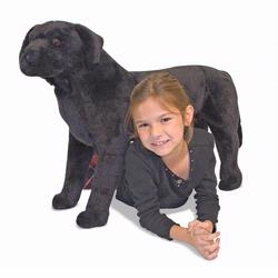 Melissa and Doug Black Lab - Plush (2117)