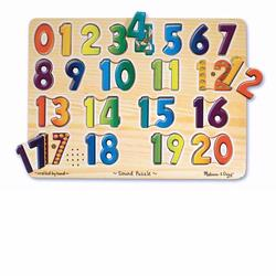 Melissa and Doug Numbers Sound Puzzle (0339)