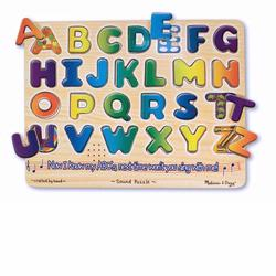 Melissa and Doug Alphabet Sound Puzzle (0340)