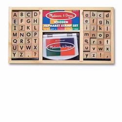 Melissa and Doug Alphabet Stamp Set (3557)