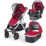 UPPAbaby VISTA-MESA Travel System - Denny Red