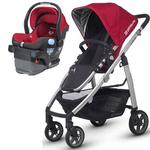 UPPAbaby CRUZ-MESA Travel System - Denny Red