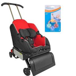 Triple Play Sit n Stroll Beverly Hills Car Seat Stroller w/ DreamBaby Click Clack Balls Teether