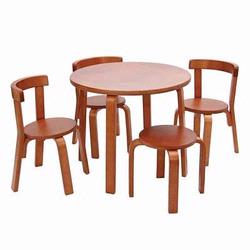 Anka A8502 Tables and Chairs Mini Furniture in Honey