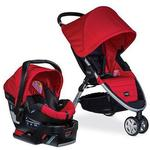 Britax S041446600- B-AGILE 3 / B-SAFE 35 TRAVEL SYSTEM - RED