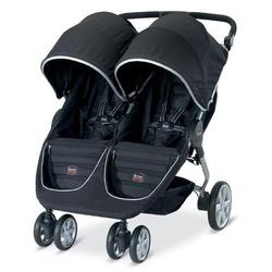 Britax U491842- B-Agile Double in Black with matching diaper bag