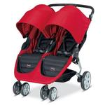 Britax U491843 - B-Agile Double  US/CAN, Red