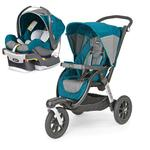 Chicco 0407937381K Activ3 Jogging Stroller - Polaris With KeyFit 30 Infant Car Seat