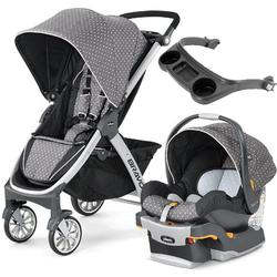 Chicco 04079095670070  - Bravo Stroller Trio System with Child's Tray - Lilla