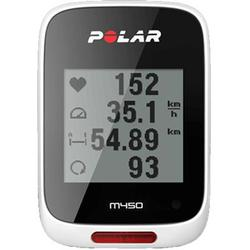 Polar 90055538 M450 Bike Computer White