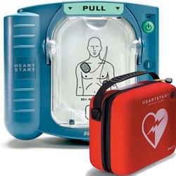 Philips M5066A-C01 (HS1) Heart Start OnSite Defibrillator with Standard Carrying Case