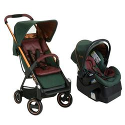 iCoo 150030 Acrobat + iGuard 35 Infant Seat Travel System Copper Green
