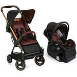 iCoo 150047 Acrobat + iGuard 35 Infant Seat  Travel System - Copper Black