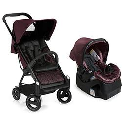 iCoo 150078 Acrobat + iGuard 35 Infant Seat Travel System Fishbone Bordeaux