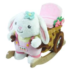 Rockabye 85056 Beatrice Bunny Play and Rock