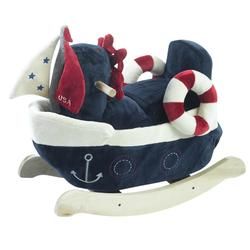 Rockabye 85059 America the Sailboat Play and Rock