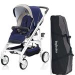 Inglesina AG37G3PSTUS - Trilogy Stroller - Positano (Blue/White) with Bag