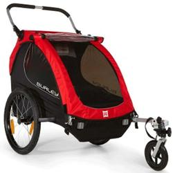 Burley 949209 Honey Bee Bicycle Trailer w/stroller wheel - Red